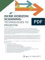 104 Sept14 Horizon Scanning Newsletter