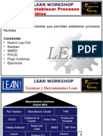 4- Lean WorkShop - Establecer Procesos Flexibles