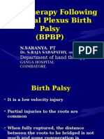 Brachial Plexus Birth Palsy New