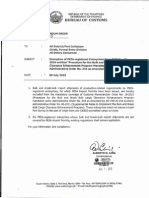 CMO No.23 2015 Exemption of PEZA Registered Enterprises From CMO No.18 2015