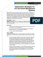 6 Optimization Strategies for Electronic Document Management Systems