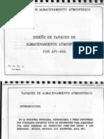 Curso Diseño de Tanques de Almacenamiento Atmosferico  API- 650