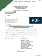 Ferrarese v. Menu Foods, Inc. et al - Document No. 15
