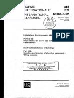 IEC-60364-5-52