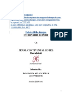 HR Internship Report
