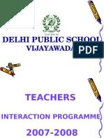 Teachers Presentation