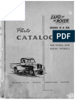 Land Rover Series II & IIA Parts Catalogue