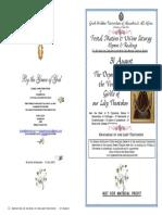 2015 - 31 Aug Deposition Theotokos' Zoni