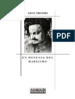 Trotski, León - En defensa del marxismo
