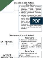 Treatment Emboli Arteri