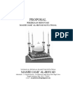 Proposal Dana Rehab Masjid 3