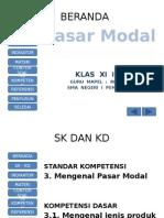 Pasar Modal Xi Ips