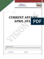 Vision IAS April - 2015