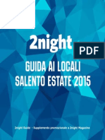 2night estate 2015 - Salento