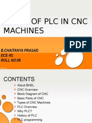 PLC IN CNC MACHINES | Programmable Logic Controller | Numerical Control