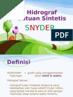 Hidrograf Satuan Sintetik