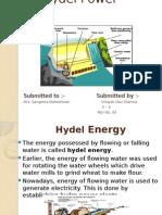 Hydel Power Plant