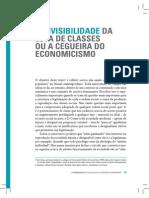 A Invisibilidade Da Luta de Classes Ou a Cegueira Do Economicismo - Jessé de Souza