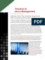Workforce Management Feature
