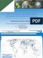 Investigaciones hidrogeológicas para una adecuada protección  y gestión de los acuíferos kársticos