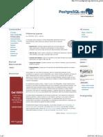 Primeros Pasos _ Www.postgresql.org