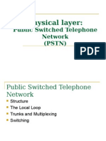Public Switched Telephone Network Physical Layer3 2
