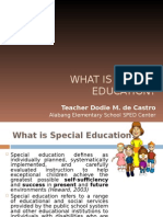 What is special education.ppt