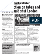 United Action Would Shut London