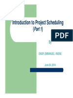 Introduction to Scheduling- POINT [Compatibility Mode]