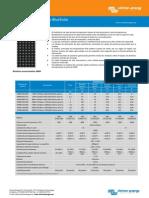 Datasheet Monocrystalline Panels