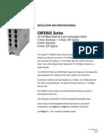 ComNet CNFE8FX4TX4US Instruction Manual