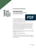 ComNet CNFE2MCPOEM Instruction Manual