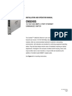 ComNet CNGE4US Instruction Manual
