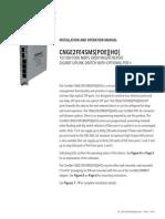 ComNet CNGE2FE4SMS Instruction Manual