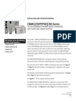 ComNet CNMCSFPM Instruction Manual