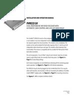 ComNet FVR22-LV Instruction Manual