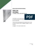 ComNet FVT414M1 Instruction Manual