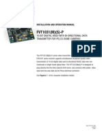 ComNet FVT1031M1P Instruction Manual
