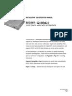 ComNet FVT1021M1 Instruction Manual