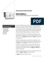 ComNet FDW1000MC Instruction Manual