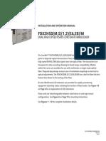 ComNet FDX2HSDM2M Instruction Manual