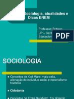 Sociologia Robson Atualidades e Dicas Enem EM 24-10