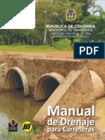 Manual de Drenaje Para Carreteras