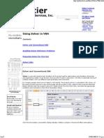 Using Solver in VBA