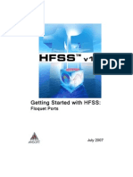 Getting Started With HFSS: