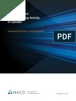 2014 NACO Report Angel Investing in Canada