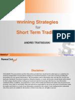 Short Term Strategies