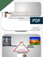 APORTES FILOSOFICOS Y LA PRODUCCION DOCTORAL 1