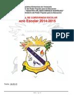 Manual de Convivencia Escolar Morero 2014-2015