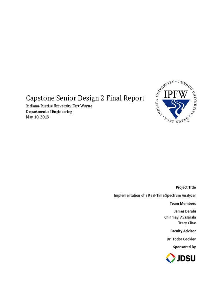 Implementation of a Real-Time Spectrum Analyzer pdf